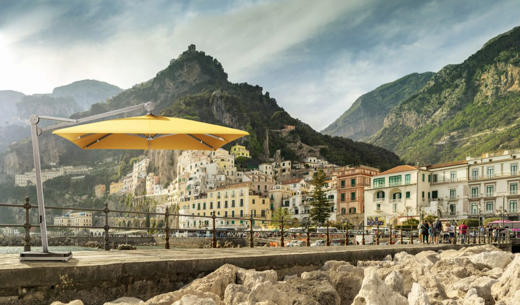 Sonnenschirm aus Alu
